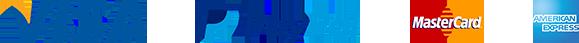 Logo Visa_Paypal_Mastercard_American_Express