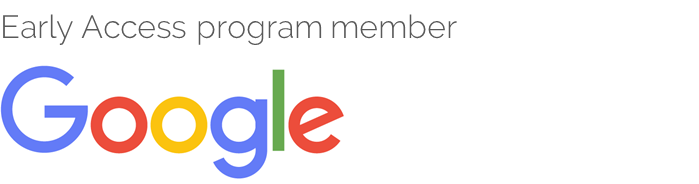 Logo Google Early Access Program